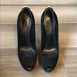 Black Louis Vuitton Heels
